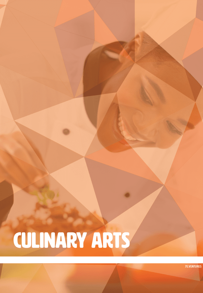 Nontraditional Career Poster: Culinary Arts