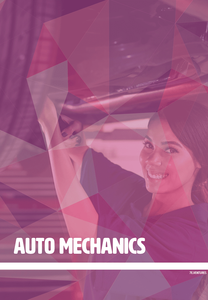 Female Auto Mechanic