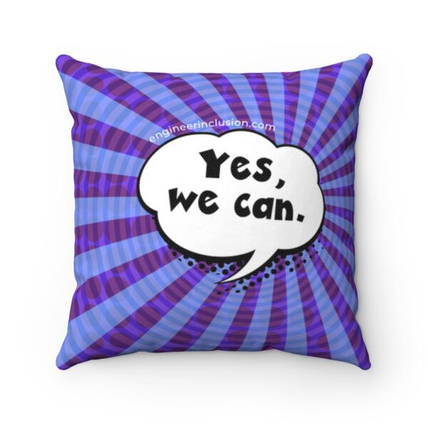 Yes we can on a pillow