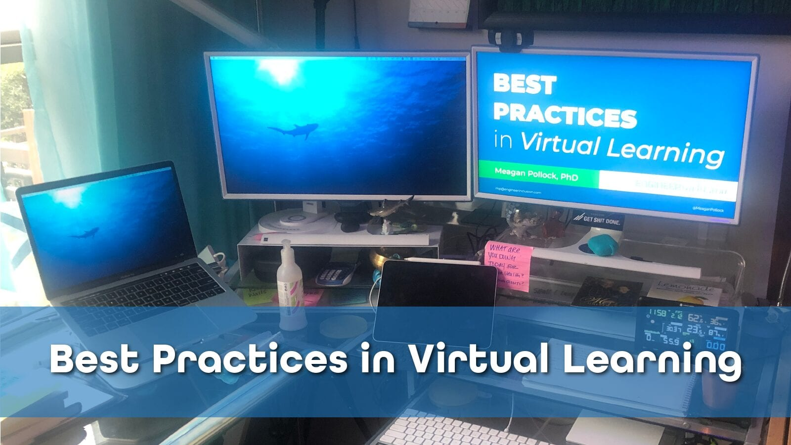 Virtual Learning Command Station