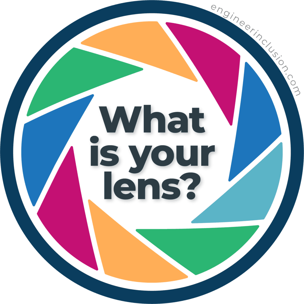 What is your lens? What is positionality? Free download on how to write a positionality statement. Positionality is 1) the social and political context that creates your identity and 2) how your identity influences and biases your perception of and outlook on the world.
