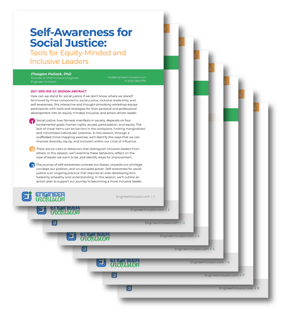 Self-Awareness for Social Justice Handout Download