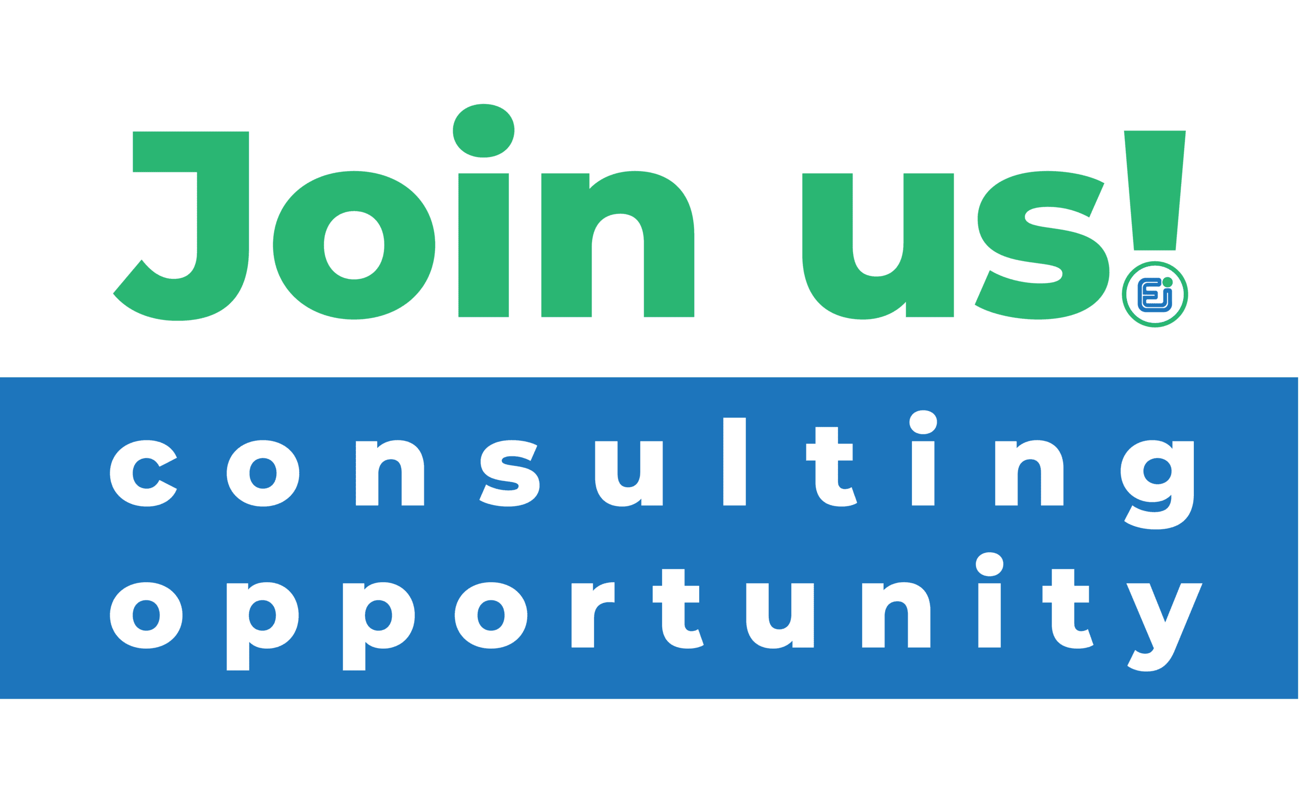 join the team! consulting opportunity